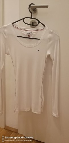 Tommy Hilfiger Ribbed Shirt white