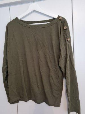 Anna Field Długa koszulka khaki