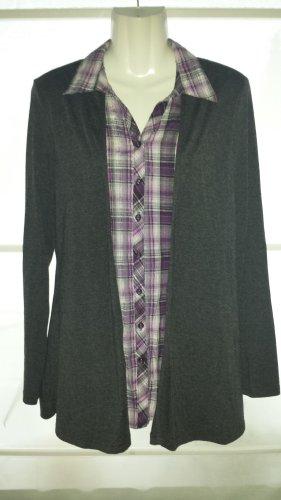 Canda Davantino (per blusa) talpa-marrone-viola