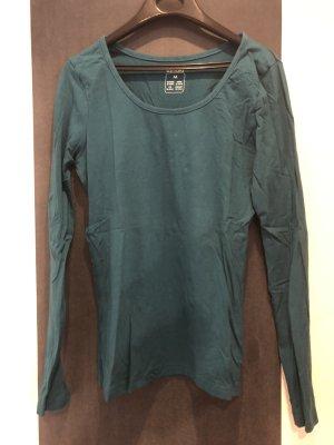 Langarmshirt grün, esmara, Gr. M 40/42