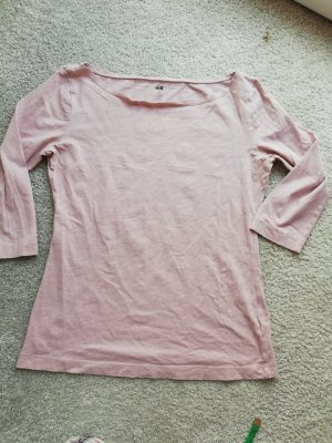 H&M Tuniek stoffig roze-rosé