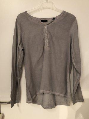 Tchibo / TCM Batik Shirt grey-light grey