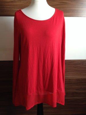 Langarmshirt in Rot