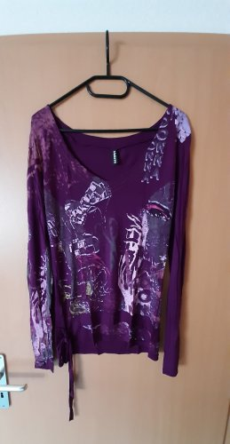 Madonna Print Shirt multicolored