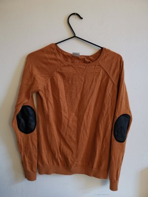 Langarmshirt mit Ellbogen-Patches