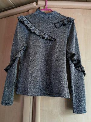 Langarmshirt mit Glitzer (Topshop)