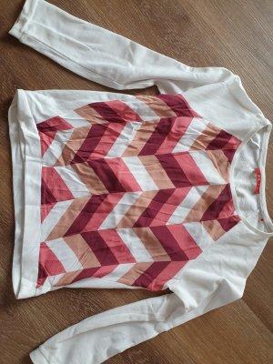 Langarmshirt mit grafischem Muster