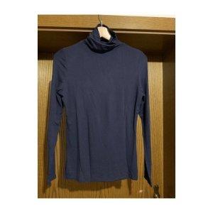 Orsay Turtleneck Shirt dark blue