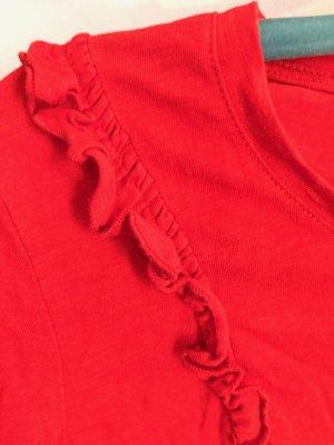 body essentials by tchibo Koszulka basic czerwony Bawełna