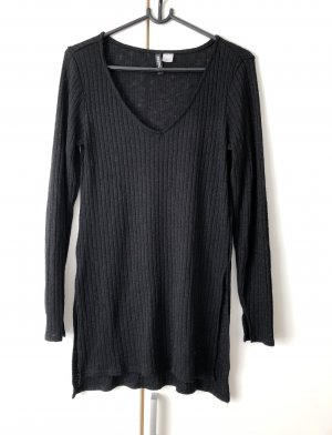 H&M Divided Lang shirt zwart