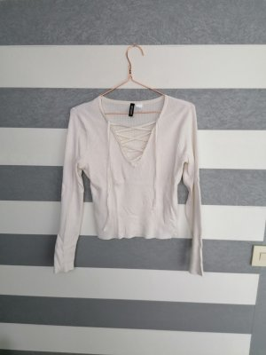 H&M Ribbed Shirt multicolored