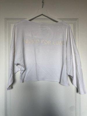 Zara Long Shirt white-rose-gold-coloured