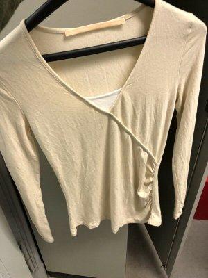 Impressionen Maglietta aderente beige chiaro-crema Viscosa