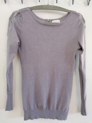 Apricot Crewneck Sweater light grey-grey