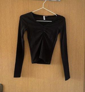 Langarmshirt mit V-Ausschnitt H&M XS