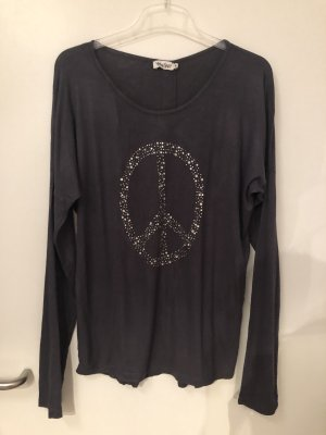 Langarmshirt Peace