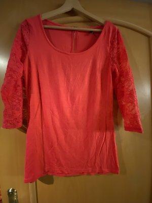 Ann Christine Lace Top pink