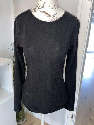 H&M Blusa sin espalda negro Poliéster