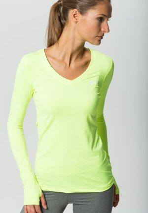 Langarmshirt / Sportshirt von NIKE - tolle Farbe - V-Ausschnitt - Gr. S