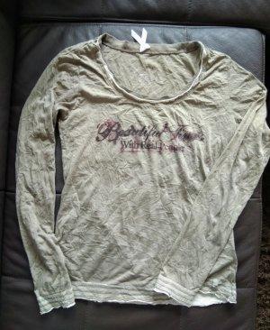 Timezone Shirt basique gris brun