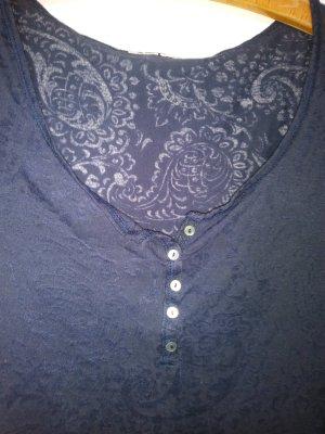 Langarmshirt transparent mit Ornamentmuster