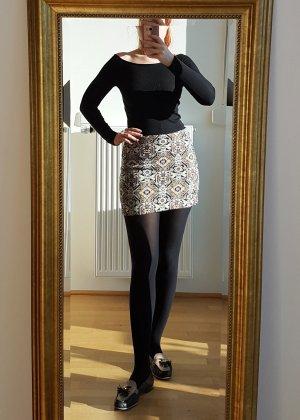 Zara Boatneck Shirt black