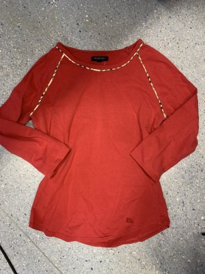 Burberry London Longsleeve neon red-red