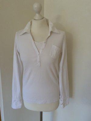 Cecil Polo blanc coton