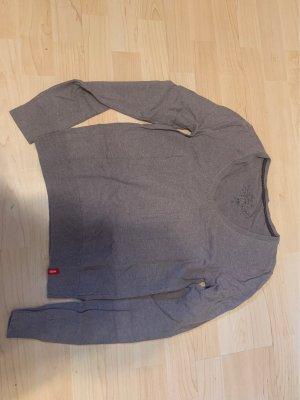 Edc Esprit Top à manches longues gris brun