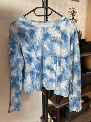 Langarmshirt von Hollister in batik Optik / tie dye