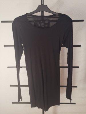 Nook... Long Shirt black wool
