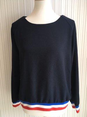 Rich & Royal Lang shirt donkerblauw Polyester