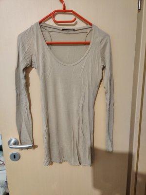 Stefanel Camicia a maniche lunghe marrone-grigio