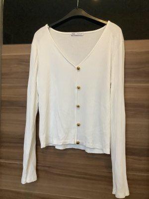 Langarmshirt von Zara Größe L
