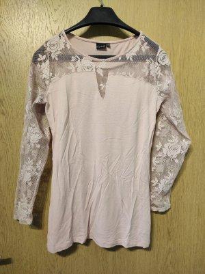Bodyflirt Kraagloze sweater rosé-lichtroze