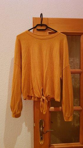 Amisu Shirt basique orange foncé