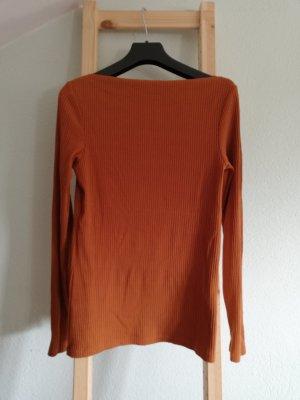 Amisu Geribd shirt cognac-roodbruin