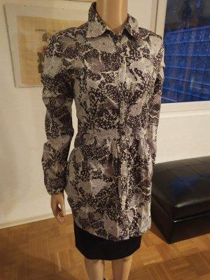 0039 Italy Lange blouse brons-room Katoen