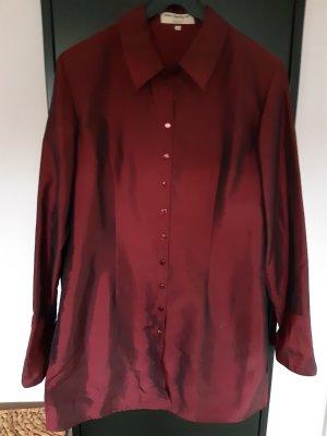 Ann LLewellyn Lange blouse bordeaux