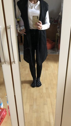 H&M Divided Hooded Vest black