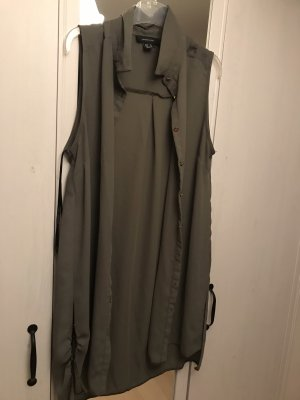 100% Fashion Bluzka z długim rękawem ochra
