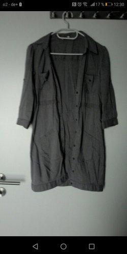 Tally Weijl Vestido tipo blusón marrón grisáceo