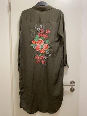 lange Bluse Boho Blumenstyle