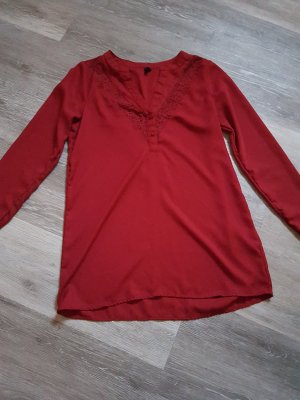 Vero Moda Long Blouse bordeaux