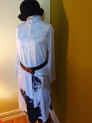 Long Blouse white-black