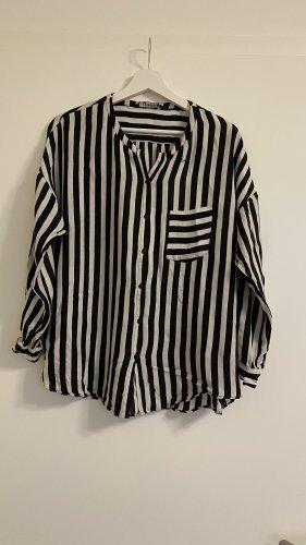 Lange Bluse gestreift