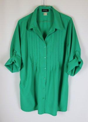 Ambria Selection Blusa ancha verde tejido mezclado