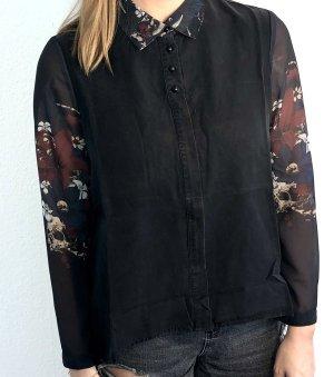Lange Bluse mit durchsichtigem Stoff l Volcom