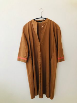 Smith&Soul Long Blouse cognac-coloured cotton