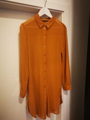 Vero Moda Blousejurk zandig bruin-goud Oranje